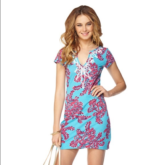 6237d96521ab Lilly Pulitzer Dresses & Skirts - Lilly Pulitzer Brewster T-Shirt Dress  Small